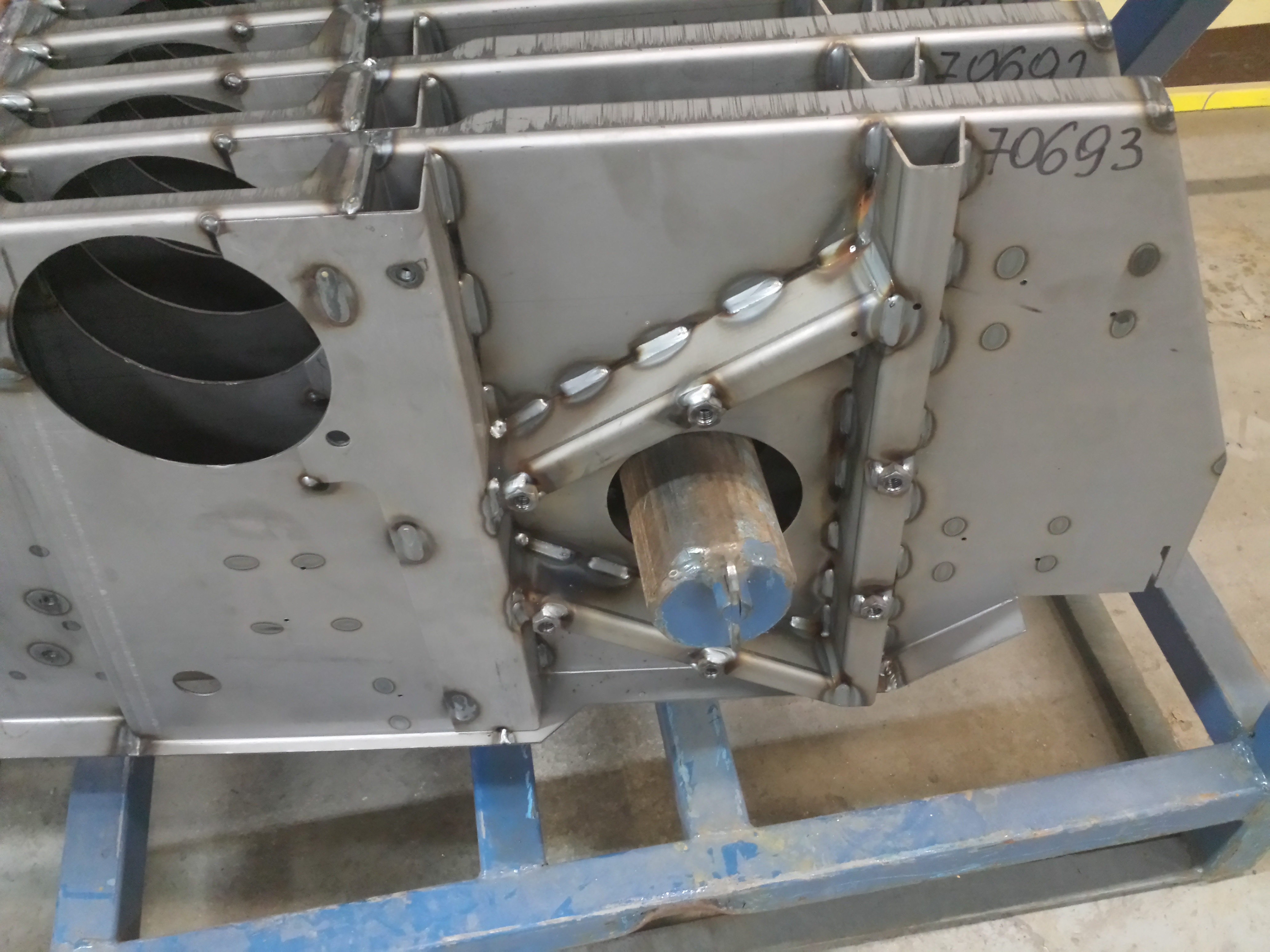 Robotic Welding Uk And Ireland Fabricated Products
